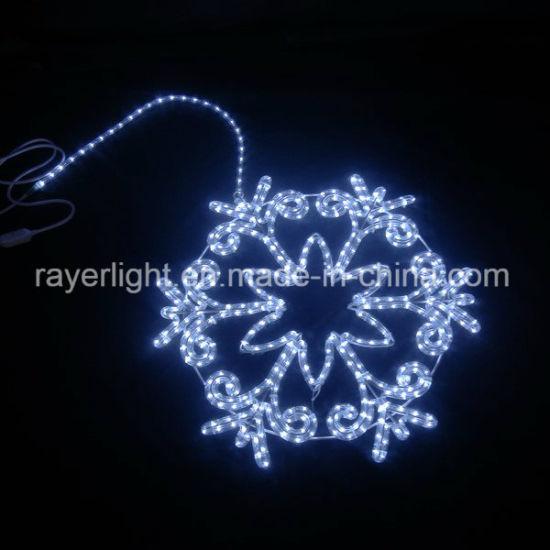 LED Snowflakes 1m Waterproof Decoration Xmas Motifs Outdoor