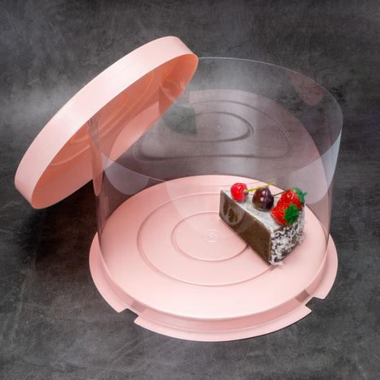 Custom PS Blister Tray Transparent Clear Cake Box Plastic