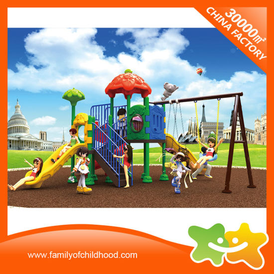Children Outdoor Playground Swing Slide