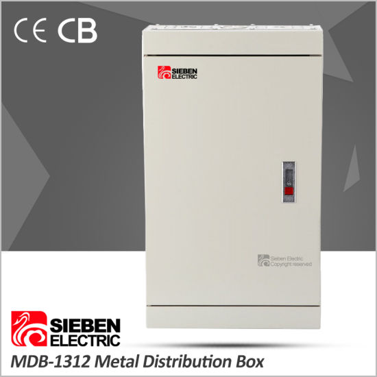 Iron Material Customized 3 Phase 12 Way Power Distribution Box pictures & photos