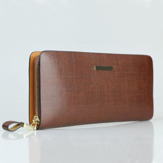 Custom Men Leather Wallet Real Cowhide Travel Wallet