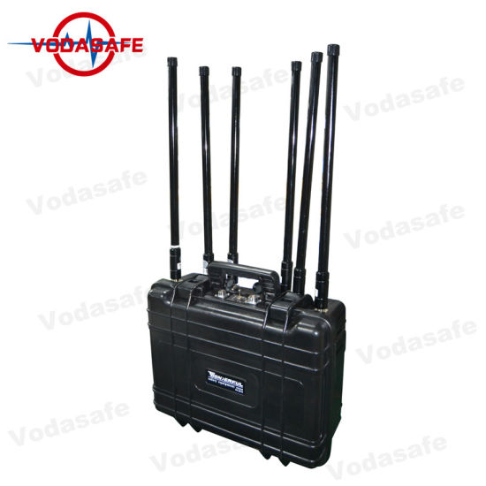 Pelican Case Six Antennas Mobile Phone Signal Scrambler with Cooling System pictures & photos