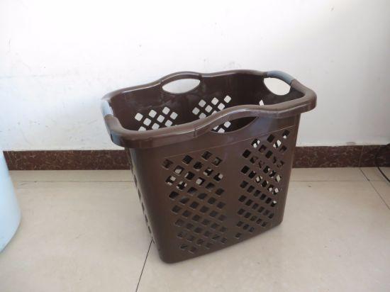 Rectangle Shape Laundry Basket Mould, Second Hand Plastic Laundry Basket Mould