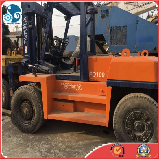 Japanese Forklift Machine Used Toyota Forklift with SGS Certificate