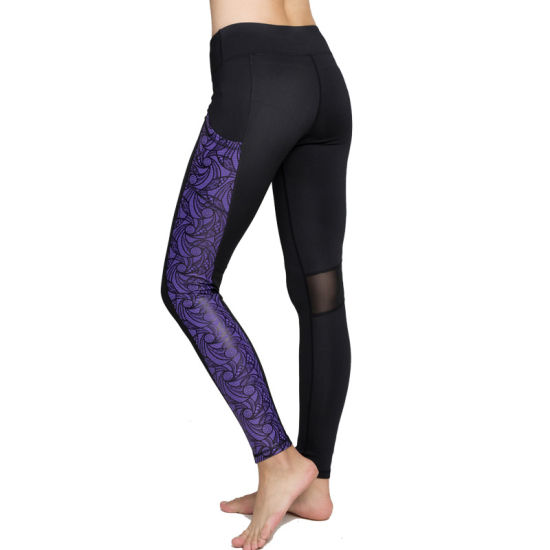 4e542dcf332180 China Tights Woman Sport Yoga Leggings Fashion Stretchable Pants ...