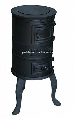 Cast Iron Wood Burning Stove, Small Wood Stove (KS-001)