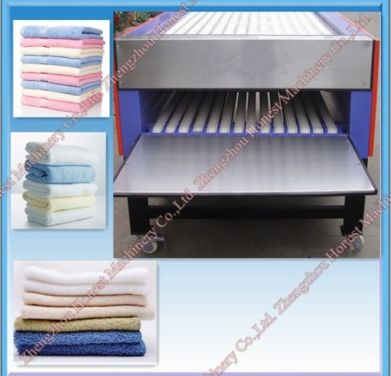 China Professional Automatic Towel Folding Machine for Hotel pictures & photos