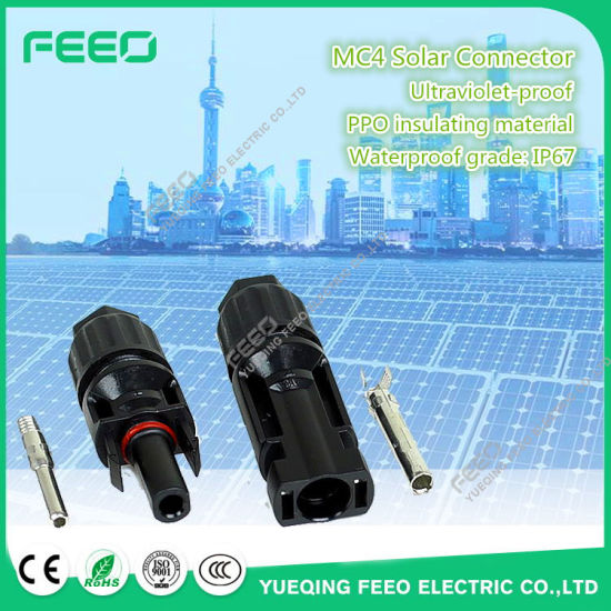 Best Selling Products Open Plug-Type Pipe Mc4 Cable Solar Power Connector pictures & photos