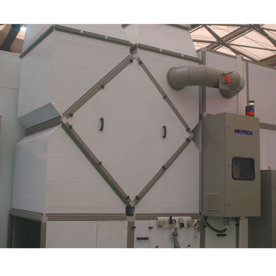 European Standard Paint Spray Booth with Heat-Recovery System pictures & photos