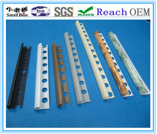 China PVC Tile Trims Plastic Edging Trims China Pvc Corner Bead - Corner bead for ceramic tiles
