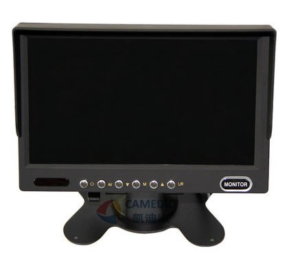 7 Inch 2chs High Resolution Car LCD Screen Monitor for Trucks 24V pictures & photos