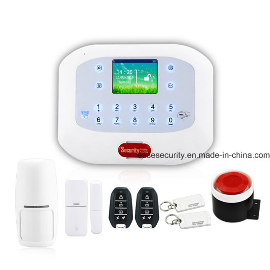 Home Security GSM Alarm with RFID Function for Burglar Alarm (ES-G50A) pictures & photos