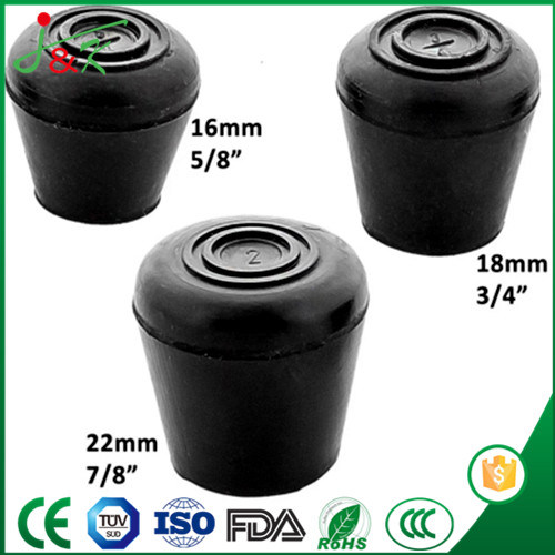 Anti-Slip Walking Stick Pads, Protective Rubber Feet, Rubber Ferrules pictures & photos
