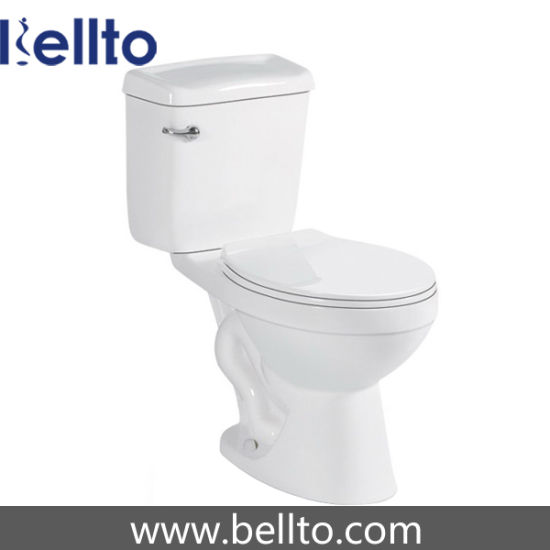 Two-Piece Washdown Close Coupled Toilet for Bathroom (346)