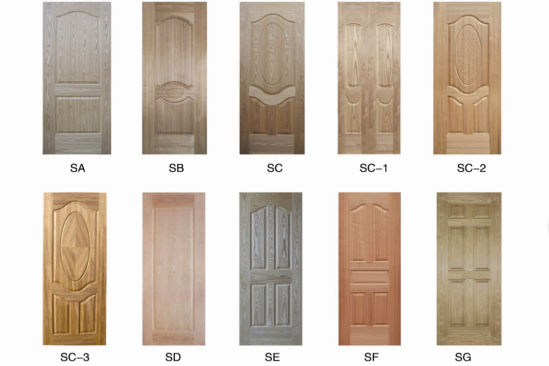 Wood Veneer/Melamine Paper Faced HDF Door Skin  sc 1 st  Shandong Jinli Imp.u0026Exp. Co. Ltd. & China Wood Veneer/Melamine Paper Faced HDF Door Skin - China Wood ...