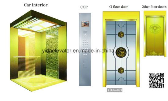 Energy-Saving Type Passenger Elevator with Otis Quality From Manufacturer