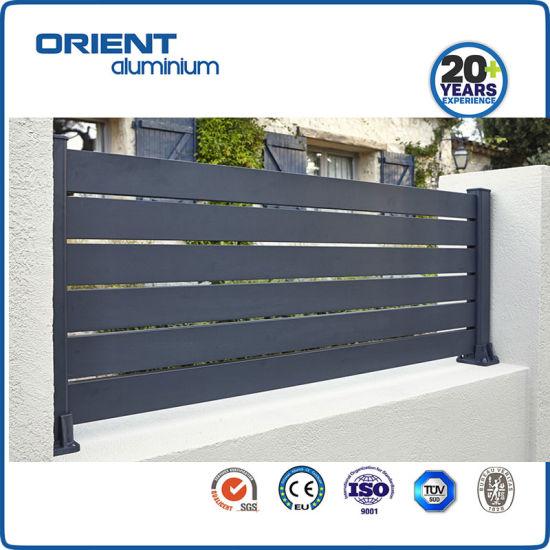 Fence Aluminium Garden Outdoor Top Supplier China