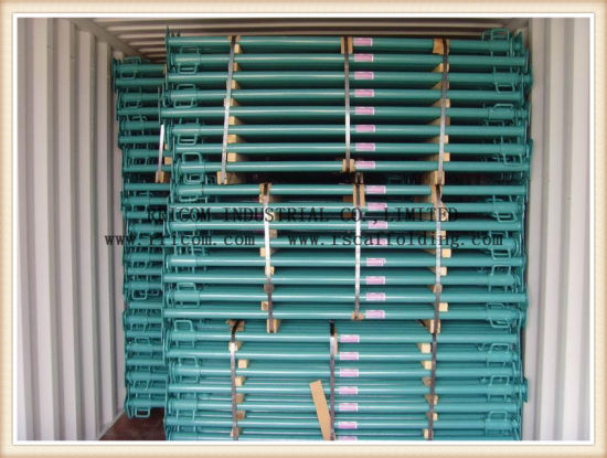 Galvanized or Painted Adjustable Construction Scaffolding Props Steel Props pictures & photos