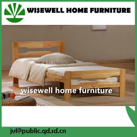 design of wood single bed. Simple Design Pine Wood Single Bed for Sale  W B 5031 China