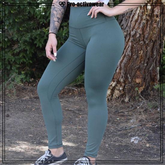 7ddb0aa1ec8 Fitness Fashion Custom Fitness Wear Spandex Womens Cropped Yoga Pants