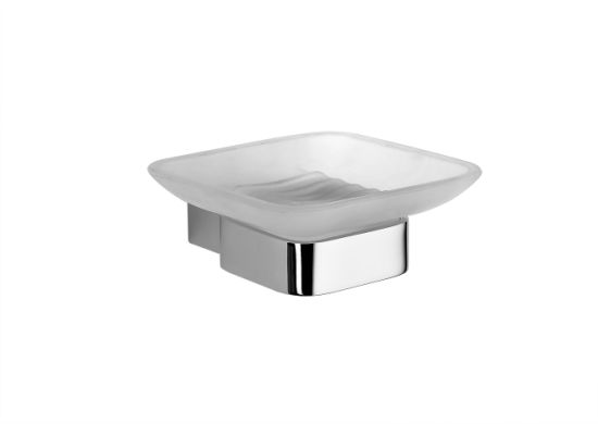 Stylish Square Bathroom Soap Dish Accessories