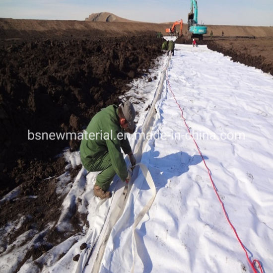 Polyester (PET) /Polypropylene (PP) Nonwoven Geotextile Landscape Filtration Fabric, for Road Works/Landfill/Gabion/Retaining Wall/Drainage/Subgrade, Good Price