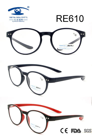 8df5d97923 China Round Frame Italy Design Custom Reading Glasses (RE610 ...
