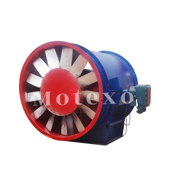 Mining Axial Type Flow Fans pictures & photos