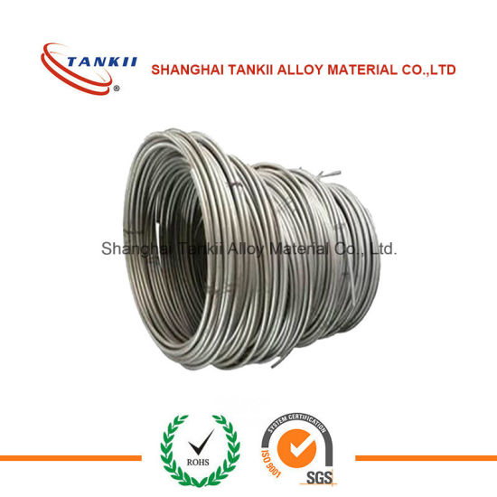 China Nickel alloy wires (NiCrofor 7618 ) NMn4-1 for sparking plug ...