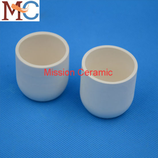 Zirconia (ZrO2) Ceramic Crucible pictures & photos