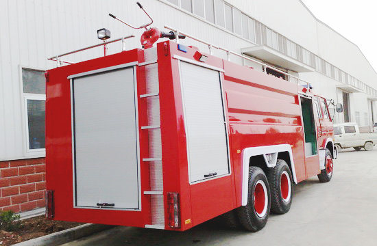 Double Cabin Water Tank 12000L Dongfeng 6X4 Fire Truck for Sale