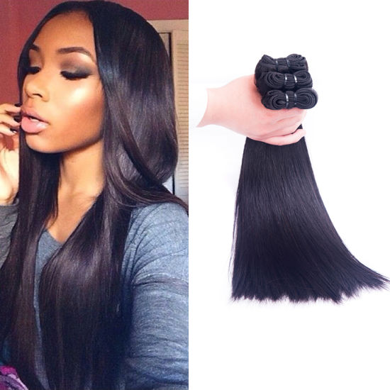 Indian Remy Human Hair Bundles 8A Straight Hair Weave pictures & photos