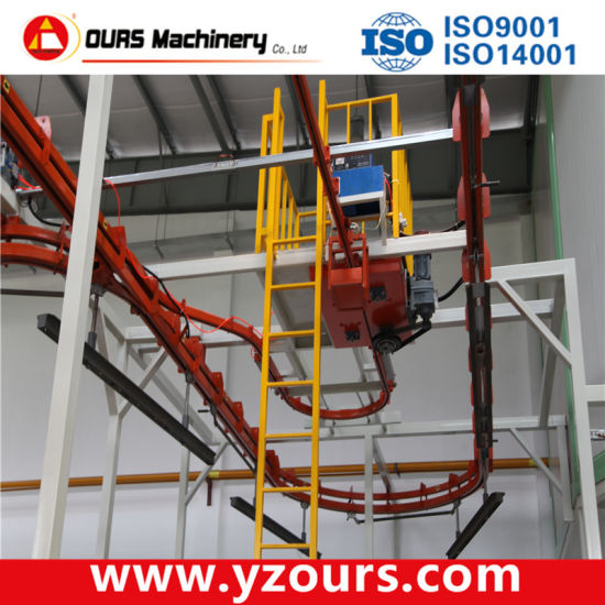Turn-Key Powder Spraying Line with Imported Parts pictures & photos