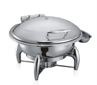 Round Induction Chafing Dish