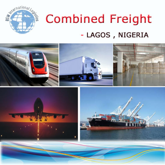 Combined Delivery to Lagos Nigeria; Combined Transport, Freight Forwarder pictures & photos