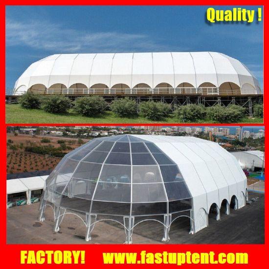 Big Aluminum Frame High Quality Luxury Dome Polygon Wedding Tent