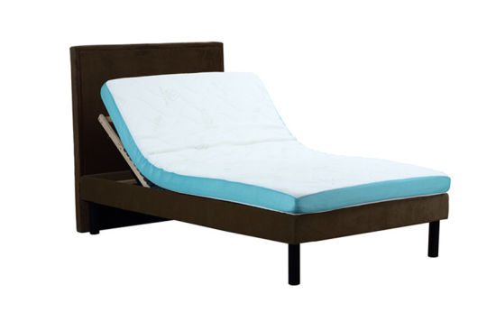 Hot Sales Okin Twin Motor Electric Slat Bed Adjustablebed pictures & photos
