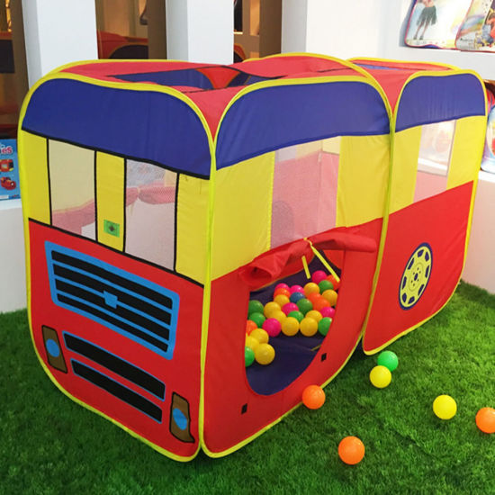 Foldable Pop up Kids Children School Bus Play Tent & China Foldable Pop up Kids Children School Bus Play Tent - China ...