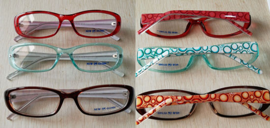 Stock Cp Frames Plastic Frames Eyewear Eyeglasss Ready Goods (L4045) pictures & photos