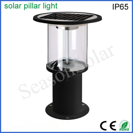 China Lighting Factory High Power LED Solar Product Outdoor Solar Lanscape Light with 5W Solar Panel