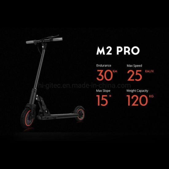 The Best Selling Personal Transporter Pneumatic Tire Foldable E-Scooter