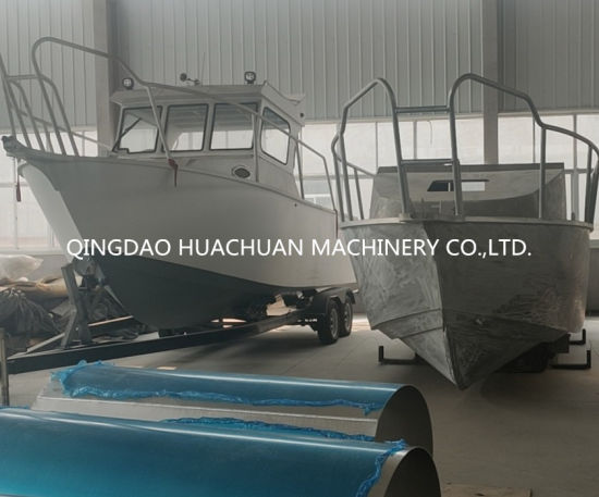 7.5m Speed Fast Boat Outboard Engine Fishing Yacht