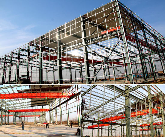 Multi-Purpose Steel Structure/Steel Warehouse (JW-16284)
