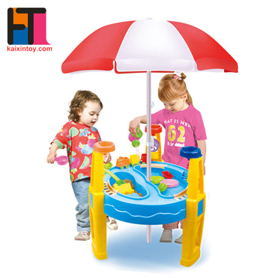 Funny Sand Play Toys Plastic Kids Toys with Sunshade