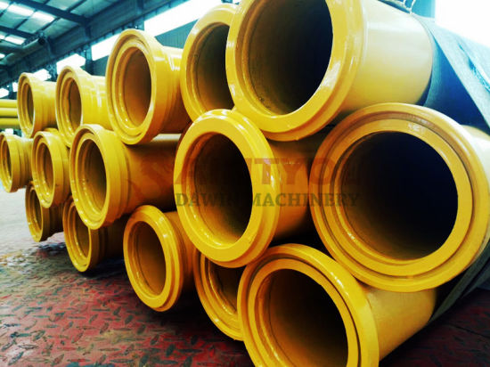 Double Wall Stainless Steel Pipe Dn125 3m Schwing Putzmeister Concrete Pump Pipe