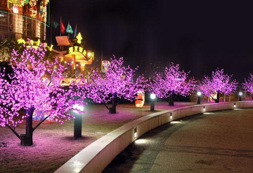 Artificial LED Cherry Blossom Tree Light for Garden Decoration pictures & photos