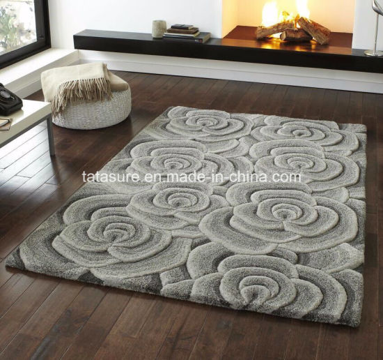 China Customized Rug Hand Tufted Hand Made Carpet Living Room Hand