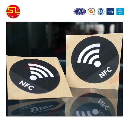 Wholesale Price Roll NFC Tag Sticker RFID Sticker for Asset Tracking and Logistics pictures & photos