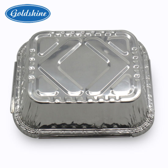 Food Grade Aluminium Foil Food Container for Fast Food pictures & photos