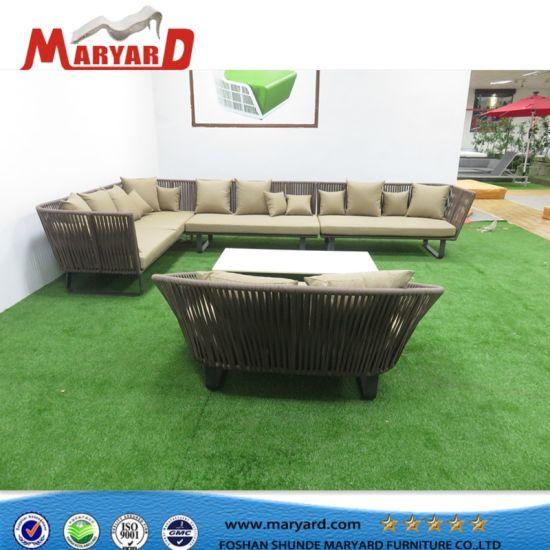 1fe41b5a20b8 Durable Garden Balcony UV-Resistace Patio Rope Sofa Set Outdoor Furniture  Recliner Sofa pictures &